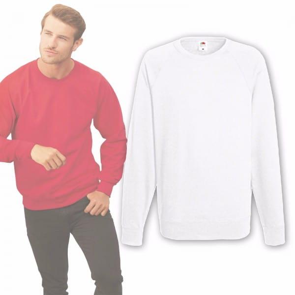 Fruit of the Loom® Sweatshirt Weiß