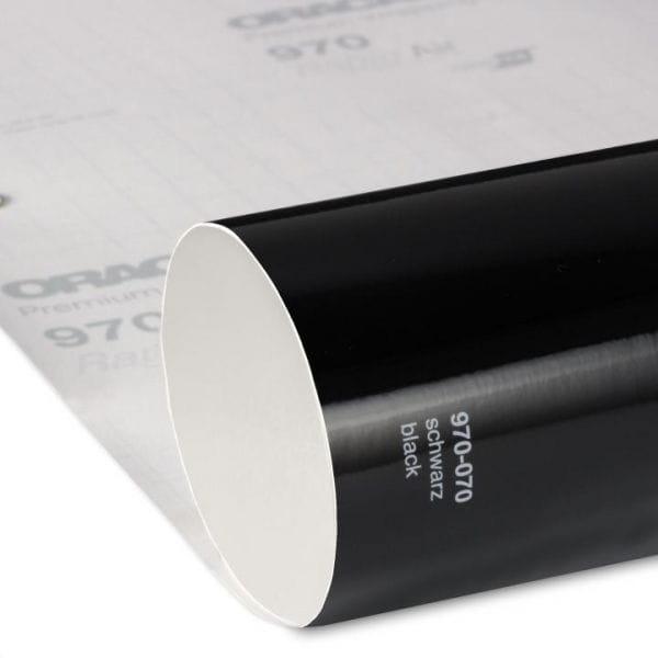 Oracal® 970RA Glanz 070 Schwarz