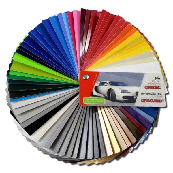 Oracal® 970RA Farbfächer