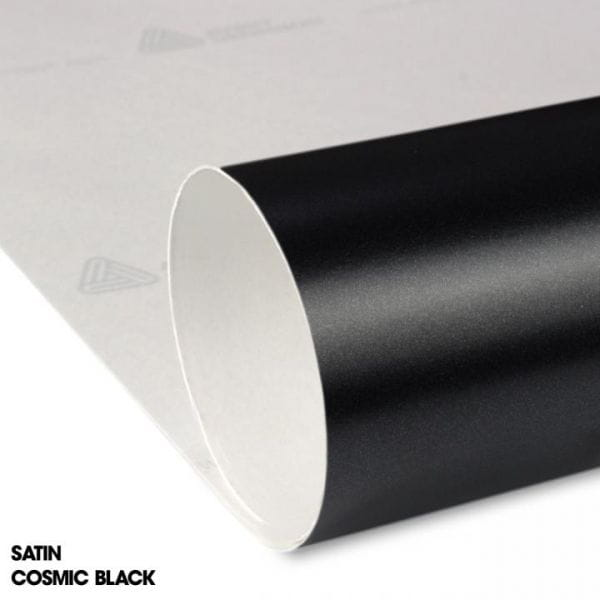Avery Dennsion® Supreme Wrapping Film Color Match Satin Cosmic Black Autofolie