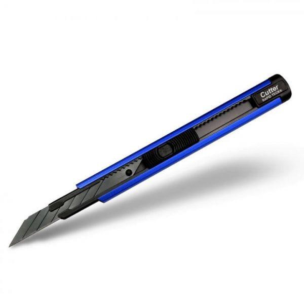 Rapid Teck® Profi Cuttermesser Blau Vorderansicht