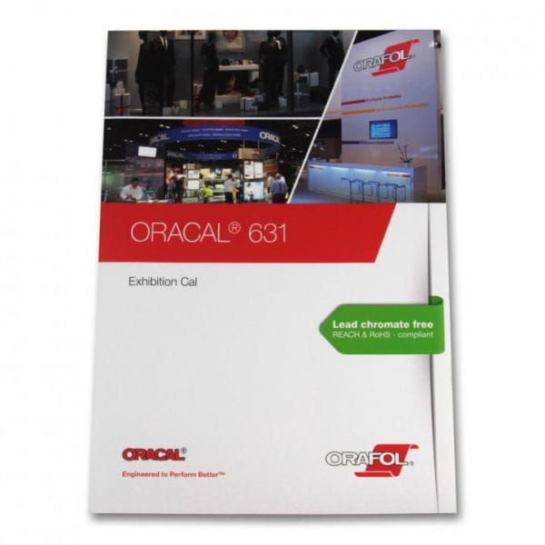 Oracal® 631 Exhibition Cal Farbkarte