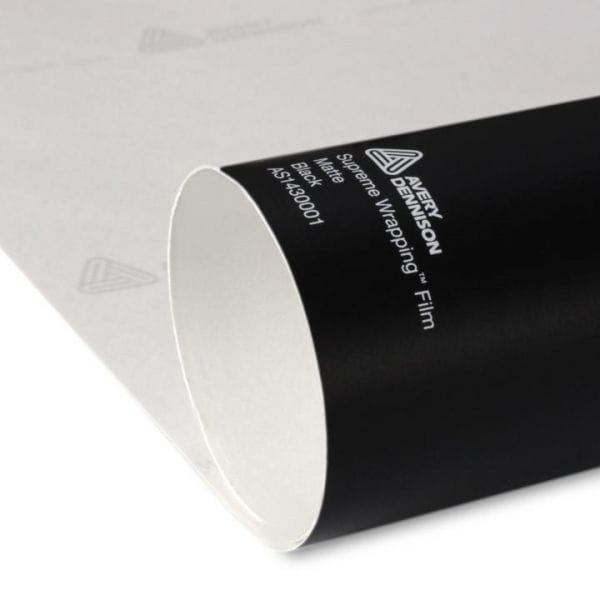 Avery Dennison® Supreme Wrapping Film Matte Black Rolle
