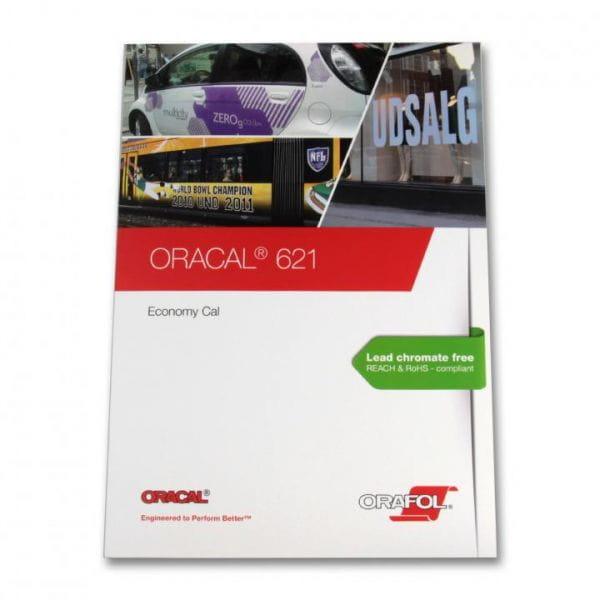 Oracal® 621 Economy Cal Plottterfolie Farbkarte