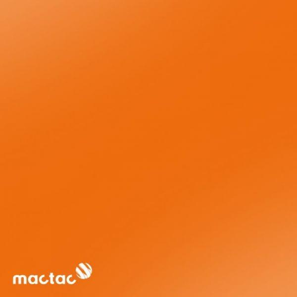 Mactac® ColourWrap G22 Gloss Bright Orange Autofolie