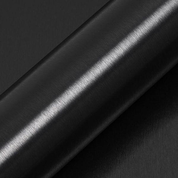 Hexis® SKINTAC HX30BA889B Gebürstetes Aluminium Carbonschwarz