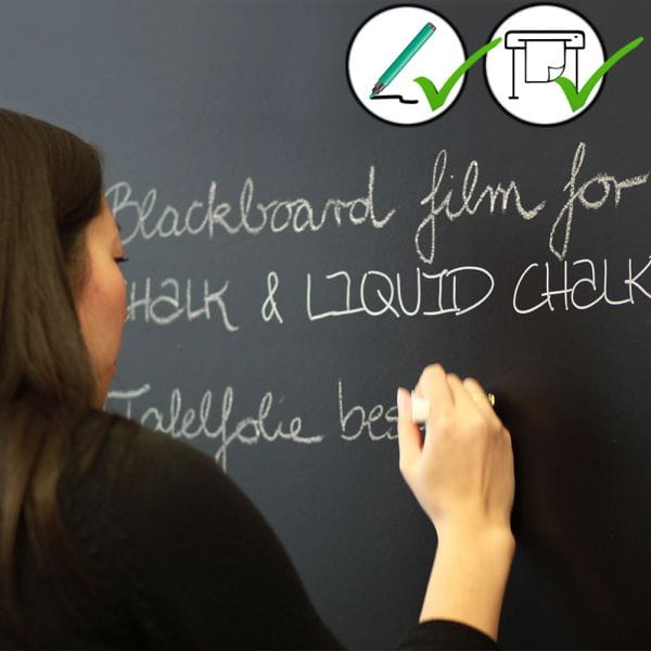 Aslan BB910 Tafelfolie Blackboard Folie Schwarz