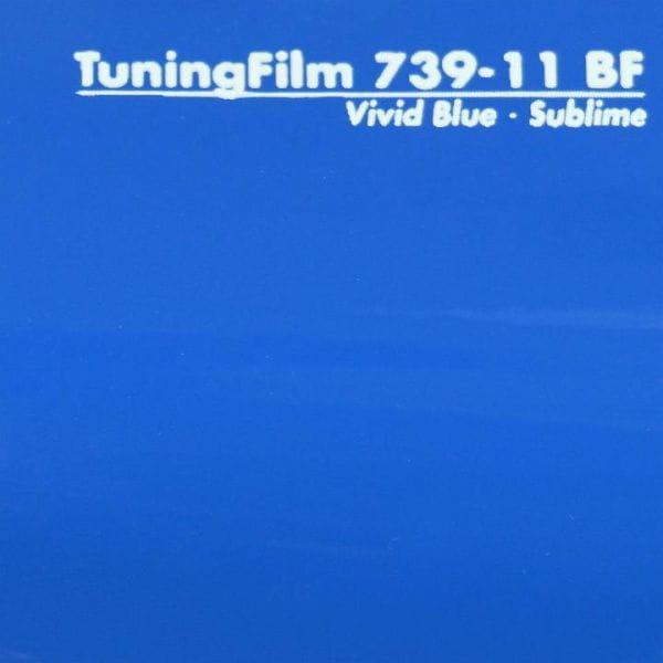 Mactac® TuningFilm 739-11 Vivid Blue Glanz