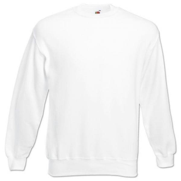 Fruit of the Loom® Set-in Classic Sweatshirt Weiß