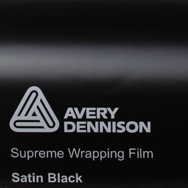 Avery Dennison® Supreme Wrapping Film Satin Black