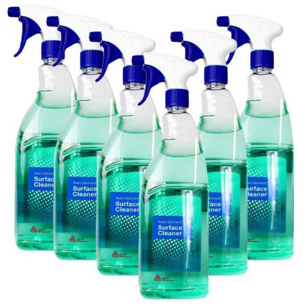 Avery Dennison® Surface Cleaner | Oberflächenreiniger | 6 Flaschen