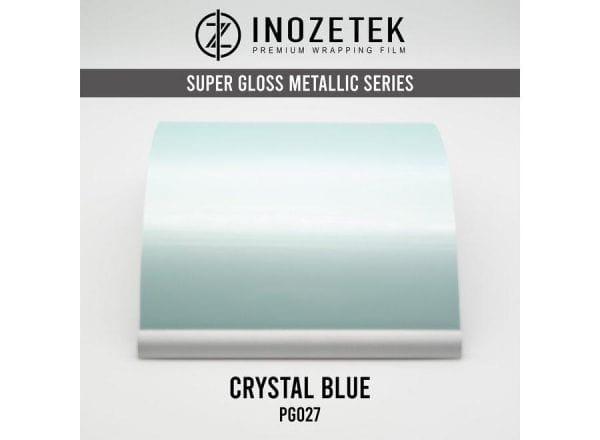 Inozetek Premium Wrapping Film Pearl Crystal Blue Pearlescent